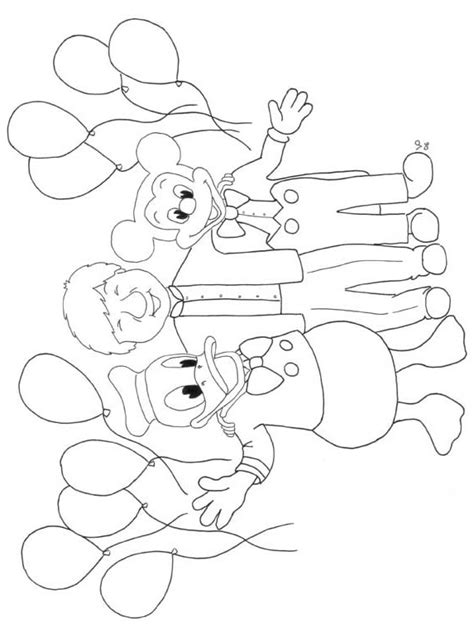 free coloring pages of pictures of disneyland