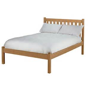 Solid Pine Bed Frames Uk Silbury Bed Frame Solid Pine With An Oak Stain