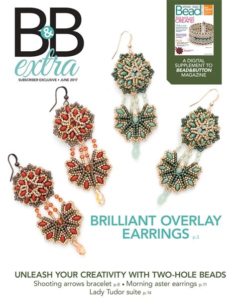 bead and button magazine june 2017 b b facet jewelry
