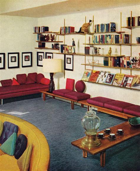 Retro Room Decor 60s Living Room Remarkably Retro 1950s Living Room Design My Style Pinterest 1950s
