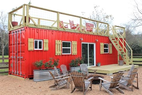 tiny container rustic retreat xl shipping container tiny house