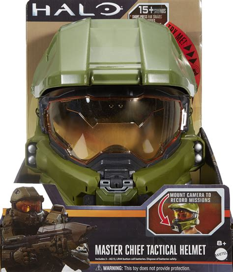 How To Make A Master Chief Helmet Out Of Paper - halo master chief tactical helmet for collectibles gamestop