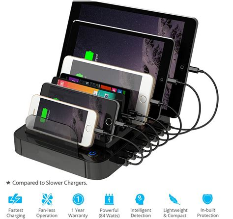 multiple phone charging station multi usb charger 7 port charging station for cell phone