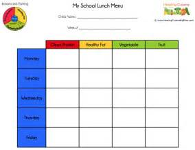 lunch menu templates healing cuisine school lunches part 3 menu planning