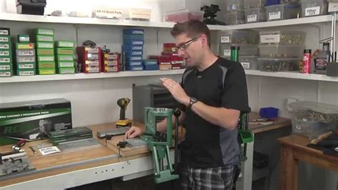 youtube reloading bench mounting the rcbs pro chucker 5 using the ultimate