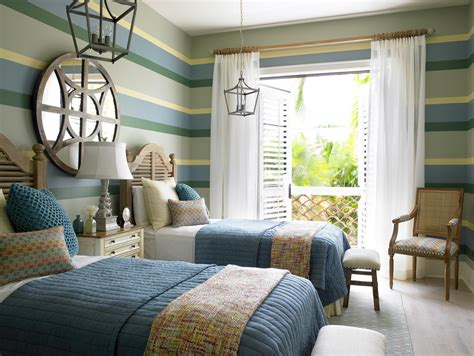 coastal cottage bedroom ideas coastal cottage kids twin bedroom the tailored pillow of