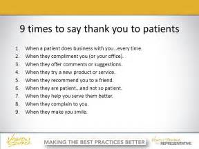 what to say in a business thank you card never underestimate the value of a sincere thank you ppt