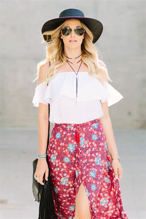 jullianne rancic and comments bohemian chic vintage inspired maxi skirt by spell designs