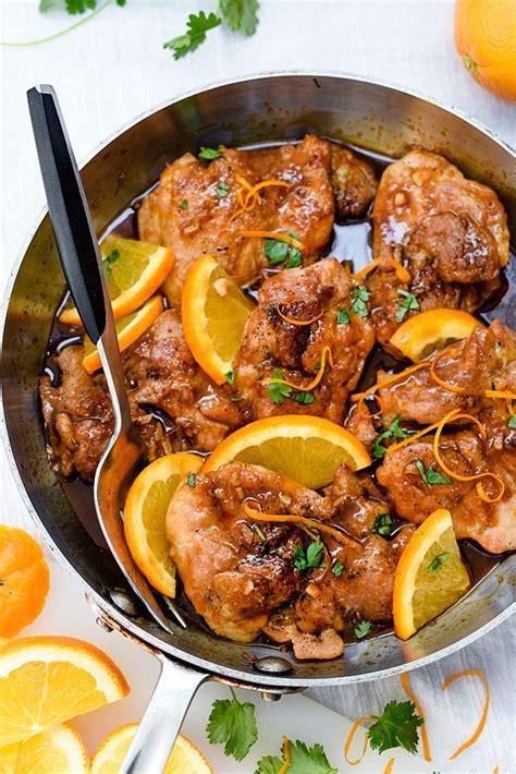asian glazed orange chicken foodiecrushcom