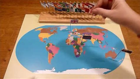 flags of the world on youtube montessori world flag map youtube