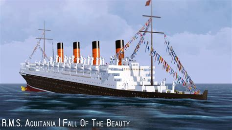 Did Olympic Sink by R M S Aquitania Fall Of The