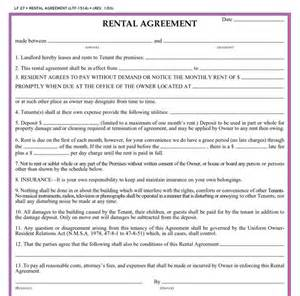 Basic Residential Lease Agreement Template Basic Rental Agreement Or Residential Lease Quotes