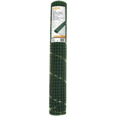 everbilt 40 in x 25 ft green multi purpose fence