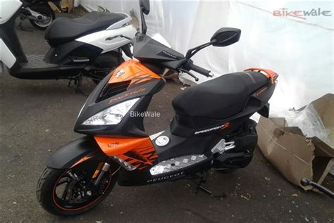 peugeot india peugeot scooters spotted at mahindra s facility