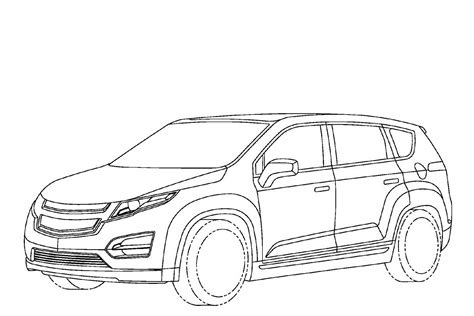 minivan coloring page mini van colouring pages