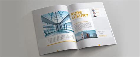 Modern Brochure Design Inspiration by Modern Brochure Design Shack