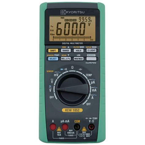 Jual Multitester Digital Kyoritsu harga jual kyoritsu 1051 digital multimeter