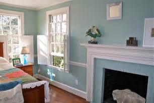 Most Calming Bedroom Colors - modern country style case study farrow and ball powder blue