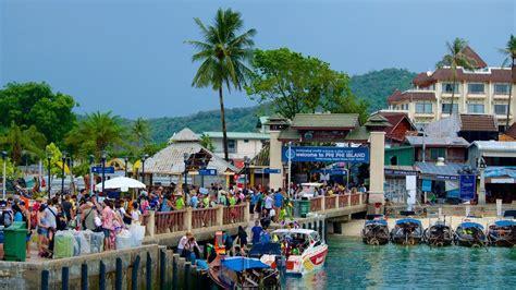 pier krabi phi phi island tonsai pier krabi thailand youtube