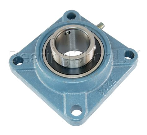 Pillow Block Bearing Ucf 205 14 Etk 78 sf25 ucf205 4 bolt flanged bearing self lube bearings bearing shop uk