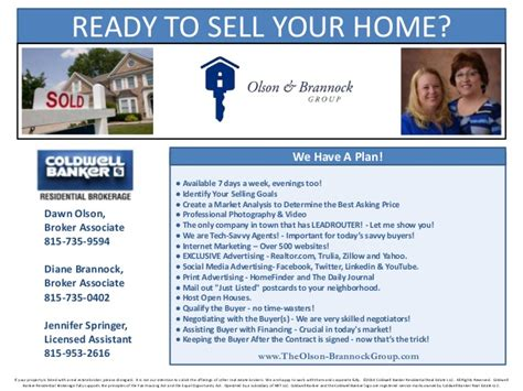real estate listing presentation template the brannock real estate listing