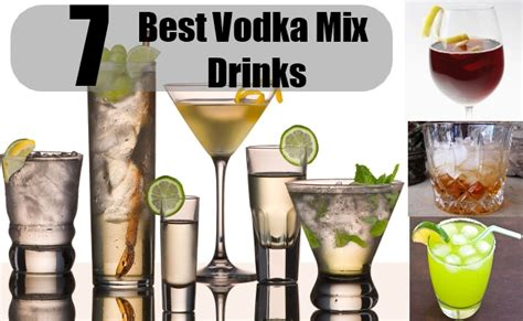 top 10 vodka drinks 7 best vodka mix drinks vodka mix recipes diy martini