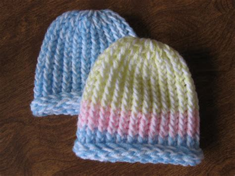 loom knit baby hat kelley s yarns lickety split loom knit newborn hats