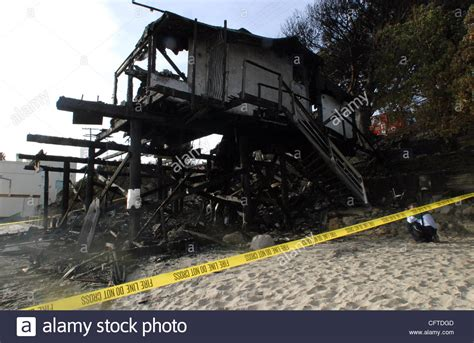 Suzanne Somerss Home Destroyed By by Jan 09 2007 Malibu Ca Usa Destroyed Home Of