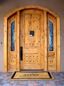 Wood Front Doors For Homes Front Wooden Door Design