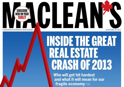 when did the housing market crash 6 canadian housing market forecasts that were dead wrong