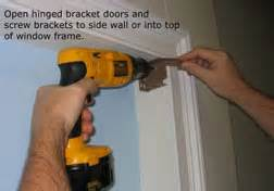 Venetian Blind Valance Clips How To Install 2 Quot Wood And Faux Wood Blinds Installation