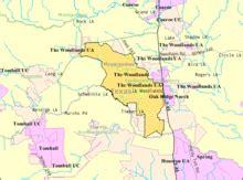 woodlands texas map the woodlands texas