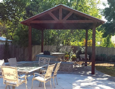 outdoor gazebo backyard gazebo with fireplace