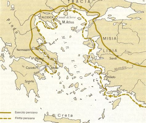 battaglia navale tra greci e persiani geomodi storia le guerre persiane cronologia essenziale