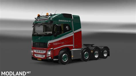 truck volvo 2013 volvo fh 2013 8x4 mod for ets 2