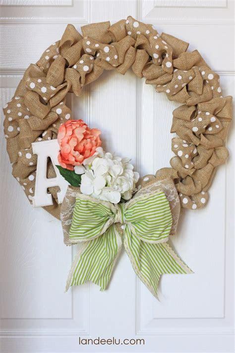 quick easy burlap fall wreath tutorial love of quick fall burlap wreath landeelu com