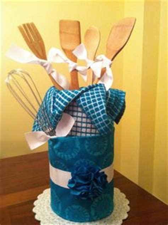 Diy Kitchen Utensil Bouquet Kitchen Utensil Bouquet Bridal Shower Ideas