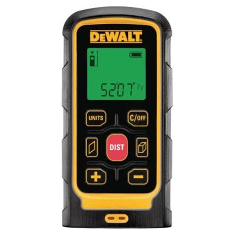 dewalt laser distance measurer dw030p the home depot