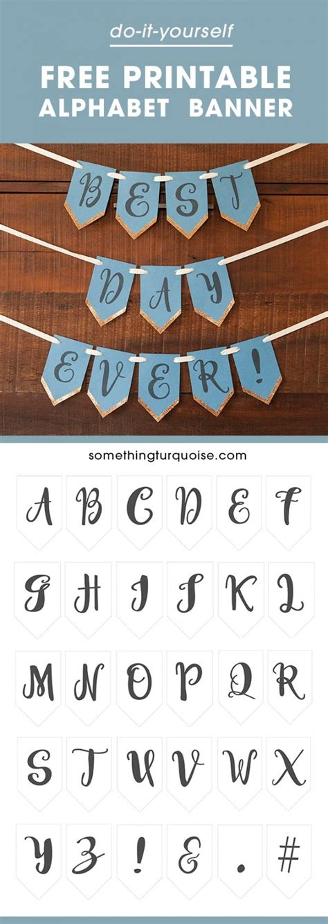 free printable whole alphabet banner free printable full alphabet banner party ideas