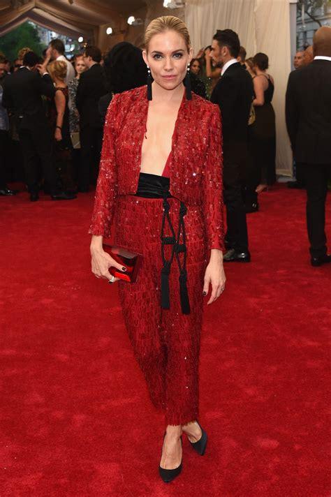 2015 Sienna Miller Met Gala Costume | sienna miller costume institute benefit gala in new york