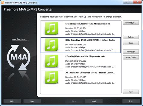 download m4a to mp3 converter online freemoresoft freemore m4a to mp3 converter convert m4a