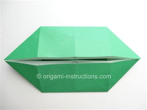 Boat Base Origami - origami boat base folding how to make an