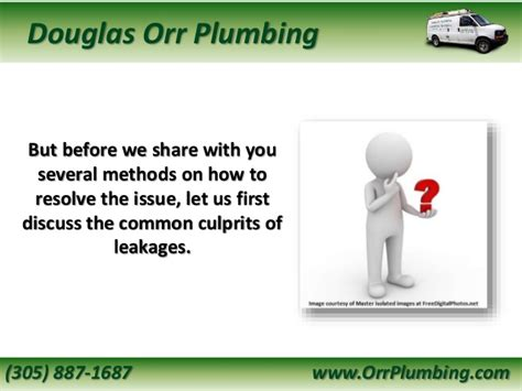Orr Plumbing by A Homeowner S Diy Guide On How To Fix Leaking Pipes