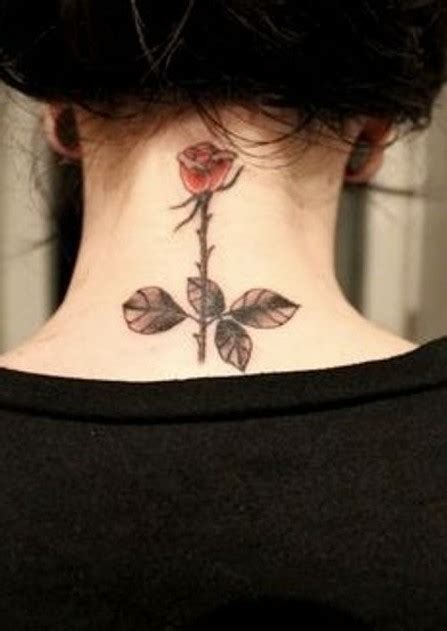rose tattoo on neck girl 55 best rose tattoos designs best tattoos for women