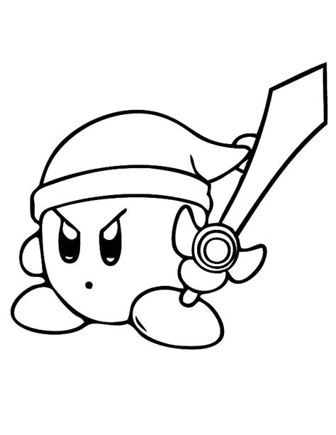 kirby mario coloring pages kirby coloring pages vitlt com free printable for kids