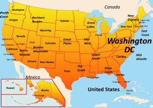 usa map washington dc washington dc map usa