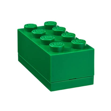 Lego Mini Box lego mini storage box sealed 8 green brick ebay