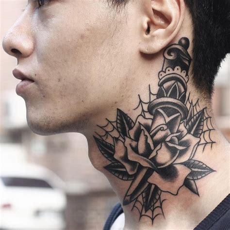 tattoo on neck pics 75 best neck tattoos for men and women designs