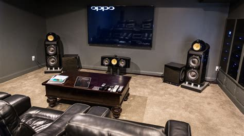 Home Theater High End high end cincinnati home theater modern home theater