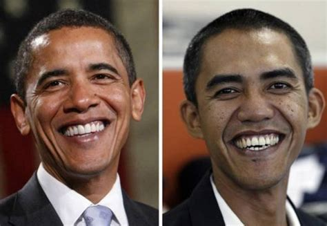 barack obama biography indonesia 40 celebrity look alikes that will make you do a double